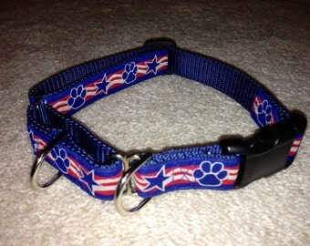 "Dual Martingale/Quick Release Collar Addition for 3/4"", 1"" & 1 1/2""collars- you will need to purchase a collar separately"