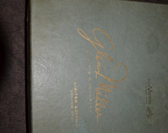 SALE - Glen Miller And His Orchestra  Vintage Limited Edition Volume 1