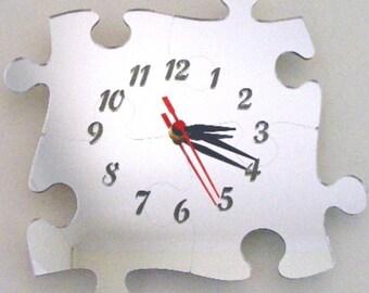 Jizsaw Clock Mirror - 2 Sizes Available