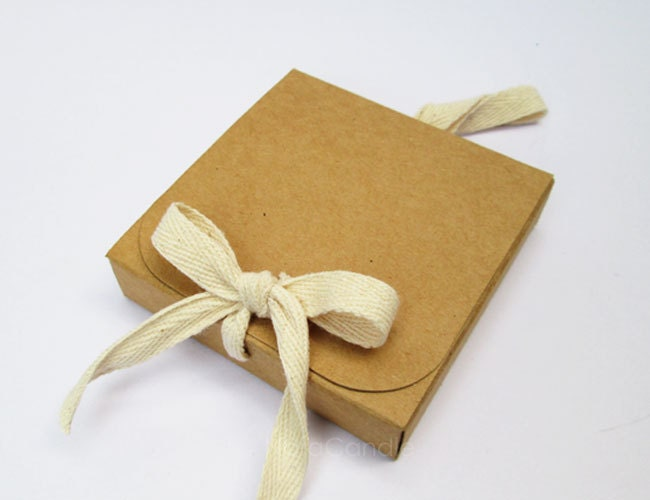 Michaels Brown Favor Boxes : Bulk brown kraft box gift small favor set of