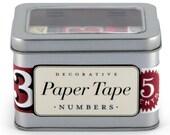 Numbers Paper Tape, Cavallini