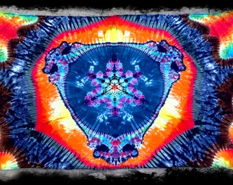 Grateful Dead Tie dye Tapestry Steal Your Face mandala Tapestries - Wall Hanging