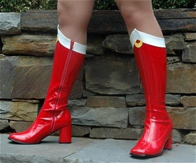 sailor moon boots sizes 4 5 12 by catziascollectibles on etsy