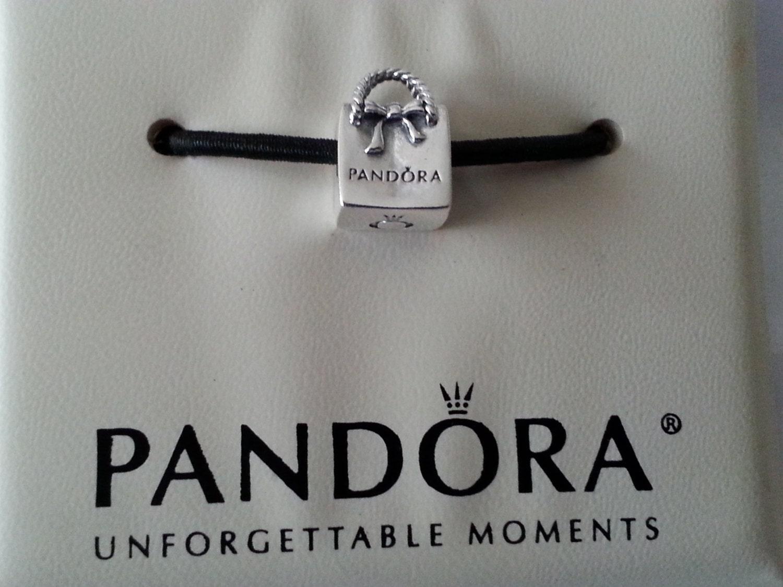 pandora shopping bag charm 791184