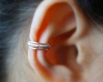 5)Simple and Cute Non-Pierced EAR CUFF III *Rose Gold*
