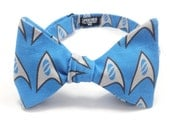 Star Trek Science Bow Tie - bowtie, bowties, bow ties, trekkie, trekker, geek, geeky chic, nerd, nerdy, mens, boys, unisex, self tie,pretied