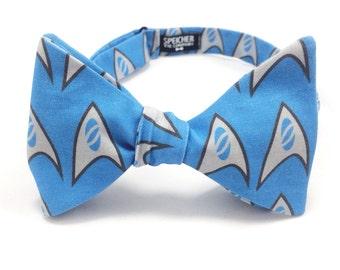 Star Trek Science Bow Tie - bowtie, bowties, bow ties, trekkie, trekker, geek, geeky chic, nerd, nerdy, mens, boys, unisex, self tie,pretied