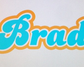 3 Layer Decal, Custom, Vinyl, Personalized