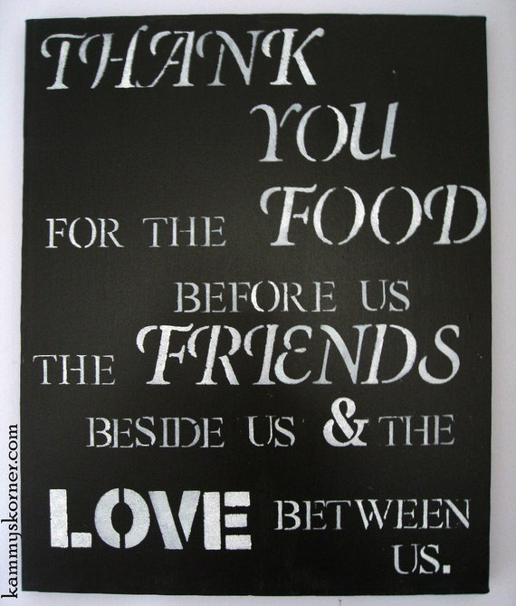 "Black and White Quote Canvas Painting 16"" x 20"""