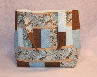 SALE ITEM -- Quilted Tote Bag