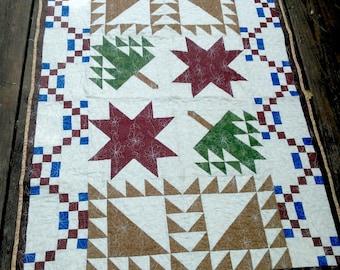 Appalachian Inspired Lap Quilt