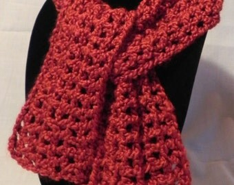 Red Wrap Scarf