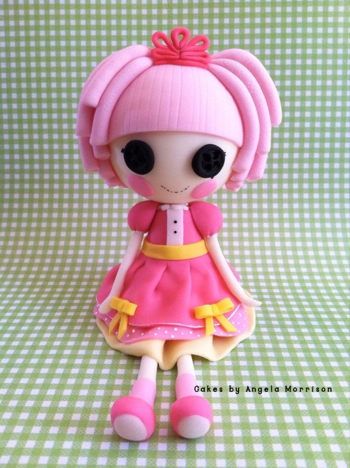 Lalaloopsy Doll Cake Topper