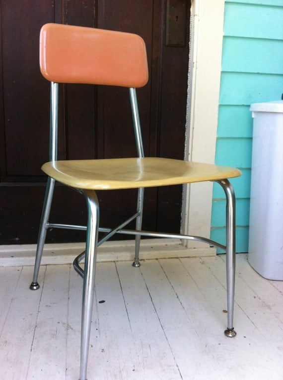 Heywood Wakefield Desk Chairs Heywoodite School Chairs