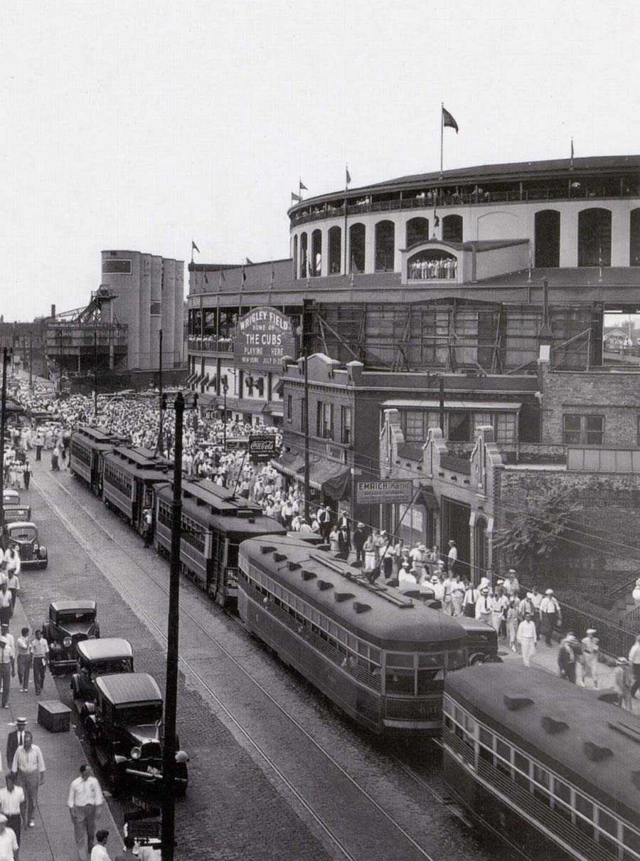 Bears at Wrigley Field Wrigley Field C.1930s