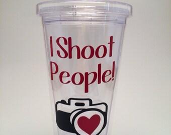 I Shoot People! Camera Photographer Tumbler
