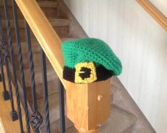 Adorable Saint Patrick's Day Baby Beret Hat