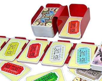 The Big Ticket Card Holder Set (Compatible with LARGE format Ticket to Ride cards)