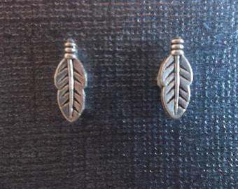 Unique Leaf Charm Magnetic Earrings!