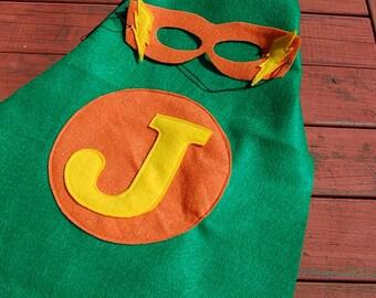 Superhero mask and cape
