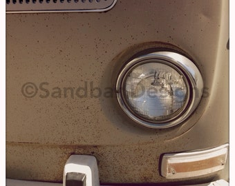 Sand Speckled VW bus