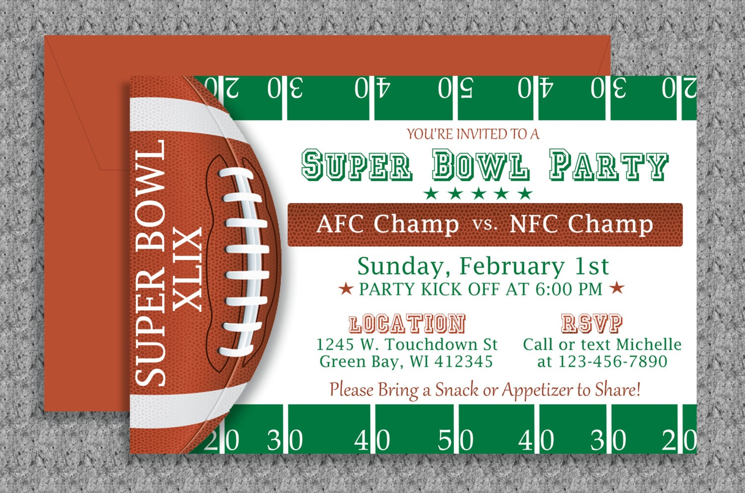 It is a photo of Wild Super Bowl Party Invitations Free Printable