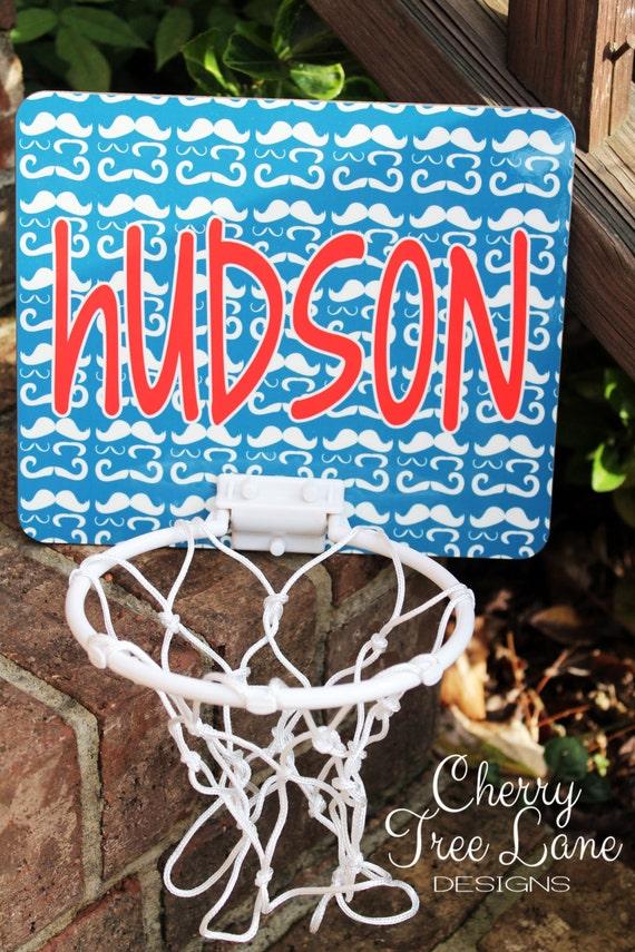 Items Similar To Personalized Mini Basketball Goal Boy Bedroom Decor Basketball