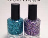 Flakie Duo - nail polish