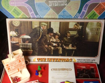Vintage Board Game - 1975 - THE INVENTORS