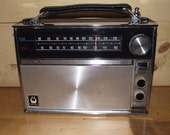 GE AM FM Portable Radio