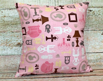 Decorative Pillows  - Pillow Case - Cushion Cover - Pillow Cover - Home Decor Pillow - Throw Pillows - 16 X 16 Pillow Cover
