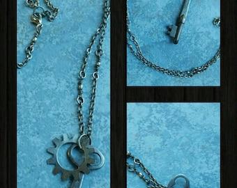 Antique Key Necklace