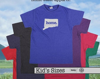 Connecticut home t-shirt KIDS sizes The Original home tshirt
