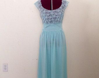 Vintage 50s Vanity Fair Nightgown