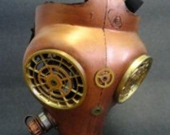 Mask Steampunk Gas Mask VI steampunk costume steampunk jewelry steampunk mask cosplay halloween