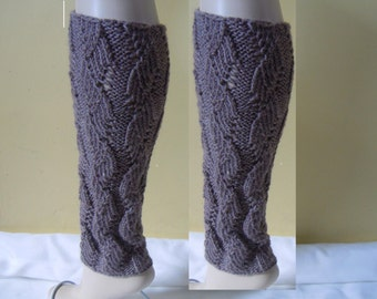 Knitted Legwarmers, Leg warmers boot womens leg warmers,  Heat Heather Color or Select Color