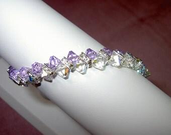 "Swarovski Crystal ""Rock Candy"" Dazzler bracelet"