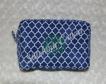 Personalized Quaterfoil Cosmetic Bags