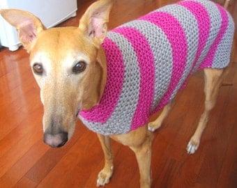 Whippet Dog Coat Knitting Pattern : Popular items for whippet on Etsy