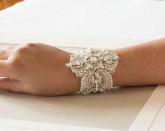 Swarovski bridal bracelet - BA04