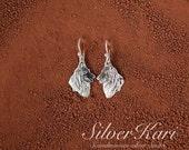 Tervueren, earrings in sterling silver