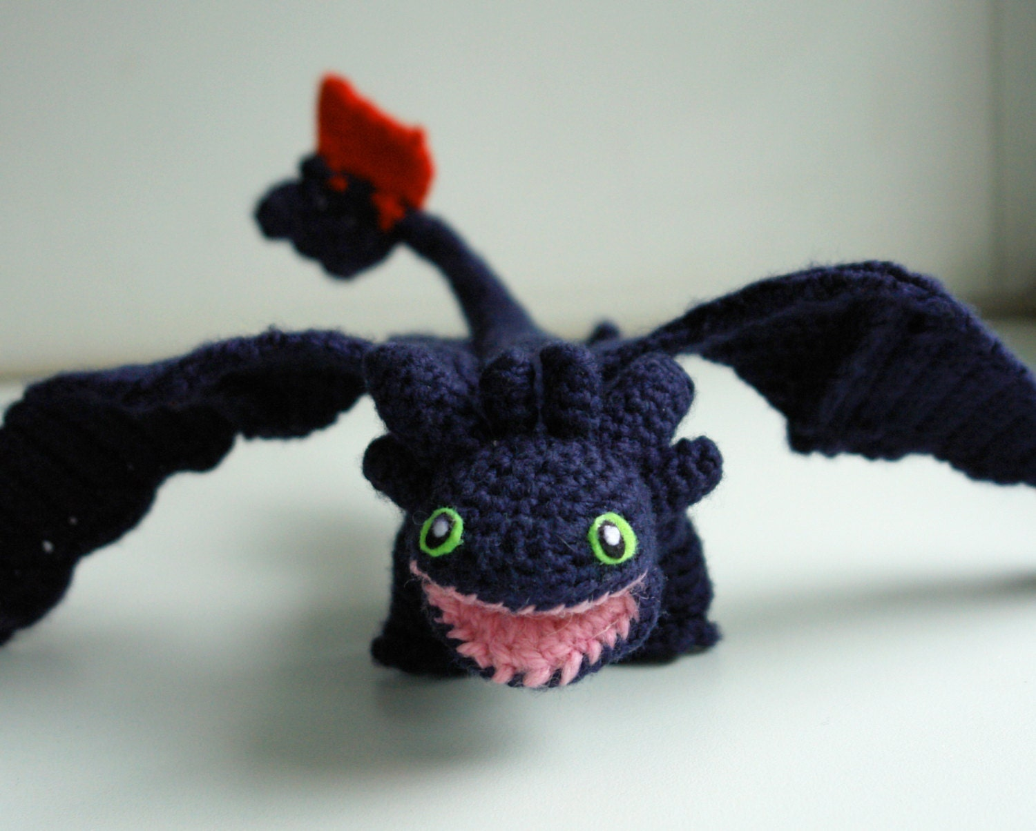 Dragon crochet pattern, Toothless amigurumi pattern, Night ...