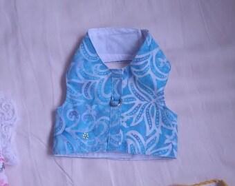 The Blue Lotus Batique-Look XS Harness Vest