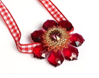 "Beading tutorial - eBook - Guide ""Baroque flower"" PDF"