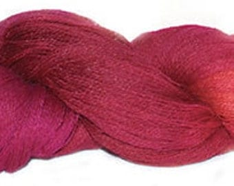 Mohair merino 2ply laceweight shade 296