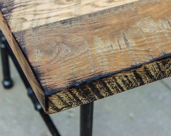 Industrial Wood Dining Table, Reclaimed Wood Table,  Table, Oak Table, Table