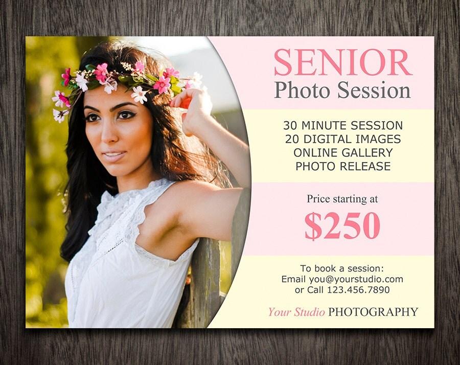 Senior Mini Sessions Photography Marketing Template