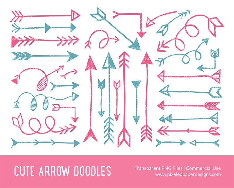 Decorative Arrow Clip Art Arrow Clip Art Quot Arrow Digital