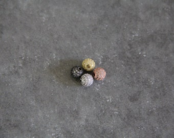 CZ Micro Pave 6mm Round beads
