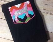 Show Goat Pocket T-shirt: ADULT SIZES